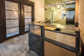 Industrial Reception Desk Real Industrial Edge Furniture Llc