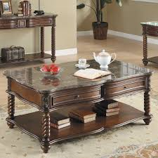 3 piece marble coffee table set coffee tables