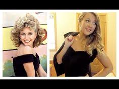 Sandy Grease Halloween Costume Halloween Tutorial Sandy Grease Transformation