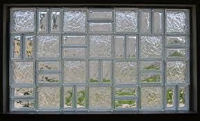 preassembled glass block windows