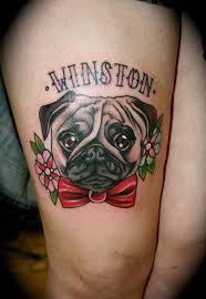 299 best dog breed tattoos images on pinterest pug tattoo pugs