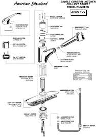 pull out kitchen faucet parts plumbingwarehouse american standard repair parts for model