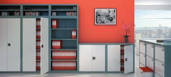 armoire bureau m allique mobilier de bureau mobilier en métal armoire métallique akaze