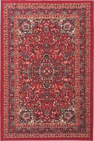 allen roth tinsley rectangular red border area rug lowes canada
