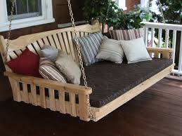 patio 51 patio swing porch swing handmade wooden porch glider