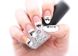Nail Art Meme - movember cat nails nailbees