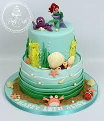 mermaid birthday cake ponty carlo cakes