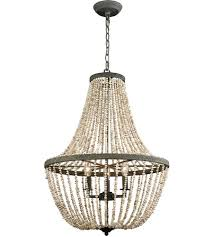 pearl chandelier dimond lighting d3307 cote des basques 3 light 20 inch pebble grey