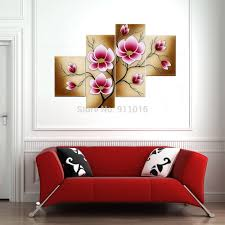 modern flowers oil painting hand painted wall paintings home decor