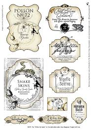 free halloween apothecary potion bottle labels www suzyhomemaker