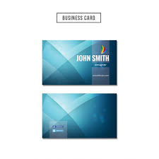 Business Card Psd Free Blue Wavy Business Card Psd File Free Download
