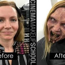 photo of cinema makeup los angeles ca united states before and