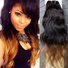 cheap hair extensions bliss free shipping 3pcs ombre hair extensions color t1b 30