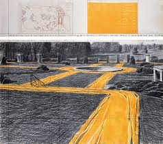 kansas walk in map christo and jeanne claude projects wrapped walk ways