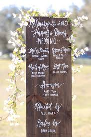 Personalized Wedding Programs Wedding Program Sign Ceremony Program Rustic Wooden Wedding Sign