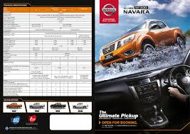 nissan australia service costs prices and details of all new nissan np300 navara announced