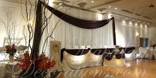 wedding backdrop simple wedding decorations for banquet halls and ceremonies in toronto