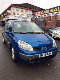 renault scenic 2002 automatic renault scenic automatic 05 1 6 petrol in manchester city