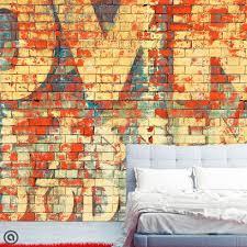 Temporary Fabric Wallpaper removable graffiti wallpaper graffiti peel u0026 stick self