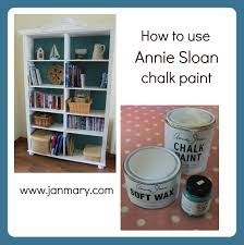 bookcase makeover with annie sloan chalk paint