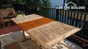 outdoor wood furniture sealer ask the builderask the builder