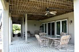 Pergola Ceiling Fan by Graceful Concrete Patio Designs Templates And Custom Wall Mounted