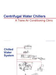 trg trc010 en centrifugal water chillers air conditioning gas