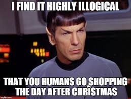 Day After Christmas Meme - mr spock imgflip