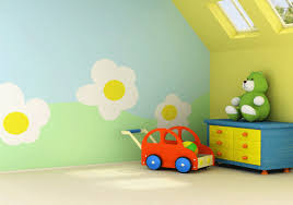 Ideas For Kids Rooms Yellow Color For Happy Kids Rooms Decor - Wall paint for kids room