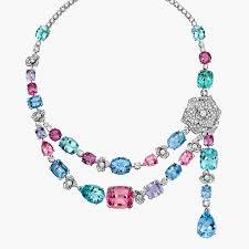 luxury necklace images White gold beryl diamond necklace piaget luxury jewellery g37lg700