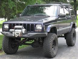 cherokee jeep xj jeep cherokee xj front winch bumper 84 01
