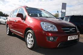 used kia carens red for sale motors co uk