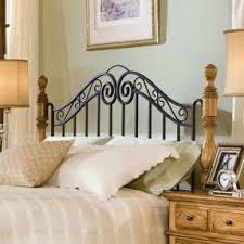 Iron And Wood Headboards by Queen Size Iron Headboard Foter