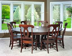 Dining Room Furniture Chicago Birmingham Traditional Round Dining Room Table Amish Furniture