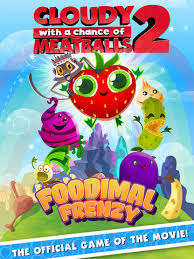 foodimal frenzy u0027cloudy chance meatballs 2 u0027