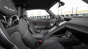 porsche 918 spyder interior first drive porsche 918 spyder autoweek