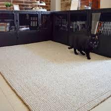 tapis de bureau personnalisé tapis jute et naturel 120 x 170 cm idées tapis