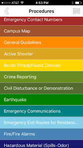 Clu Campus Map Emergency Planning App Released Over Summer Campus Safety Still
