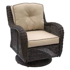Swivel Outdoor Chair Brown Grand Isle Wicker Swivel Chair At Home At Home