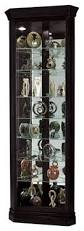 Curio Cabinet Accent Lighting Corner Curio Cabinet With Beveled Glass Door Traditional China