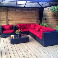 Patio Furniture Mississauga by Lovett The Perfect Outdoor Patio Furniture Sectional With Sunbrella
