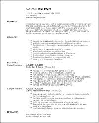 Camp Counselor Job Description For Resume by Camp Counselor Resume Whitneyport Daily Com