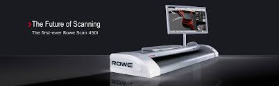 Wide Format Scanning And Archiving Rowe Scan 450i