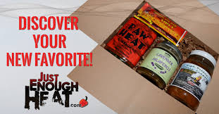 food of the month club gift hot sauce spicy food club just enough heat
