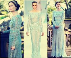 blair wedding dress blair waldorf blue wedding dress diy wedding 34843