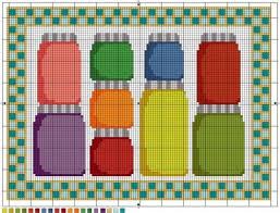 point de croix cuisine 327 best cuisine kitchen point de croix cross stitch images on