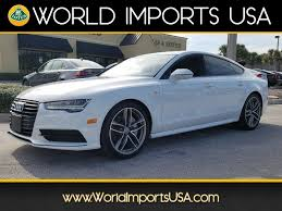 audi a7 used 2016 audi a7 premium plus awd for sale in jacksonville fl