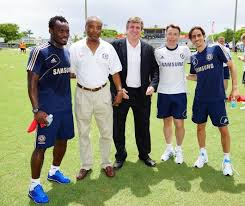 chelsea youth players the bajan reporter digicel launches youth initiative with chelsea