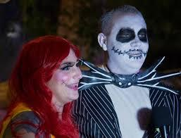 Sally Jack Halloween Costumes Disneyland Rolls Fun Scary Mickey U0027s Halloween