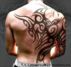 mens tribal tattoos back tattoos top